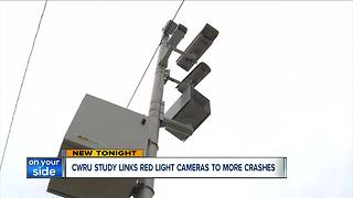 CWRU study: Red-light cameras don't reduce accidents or make intersections safer - Video