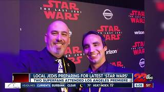 Local Star Wars fans prepare for premiere - Video