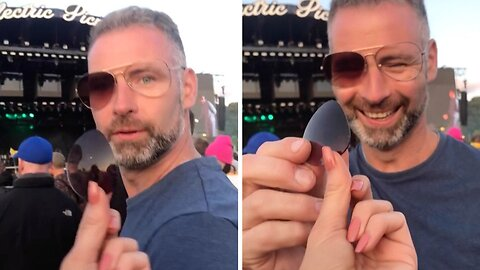 Lost Sun-glass Lens Unbelievably Returned To Guy Missing It At Festival