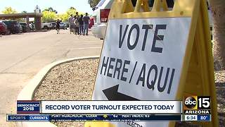 Record number of voters expected in Arizona - Video