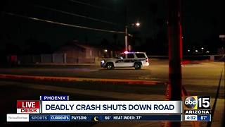 Pedestrian hit, killed near 40th Street and Thunderbird Road - Video
