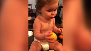 Toddler Citrus Confusion - Video