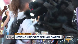 Las Vegas police promote Halloween safety