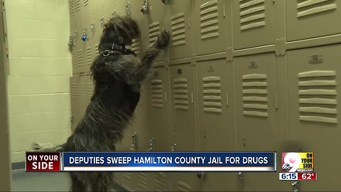 How the Hamilton County Justice Center keeps drugs out