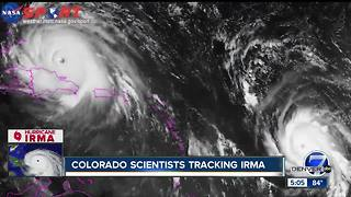 Hurricane Irma is more than double the size of Colorado - Video