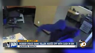 FBI searching for bank robbery suspect in Scripps Ranch