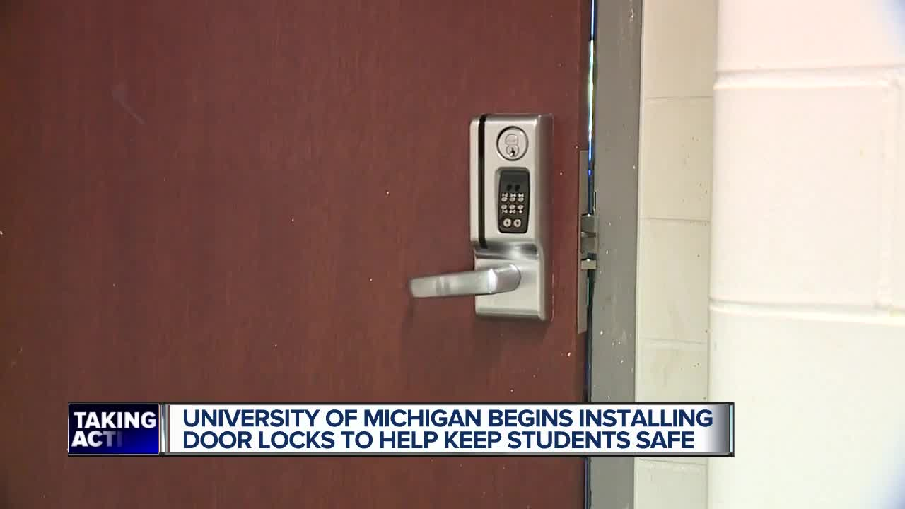 Mason Hall and the University of Michigan gets high-tech locks in security  upgrade