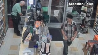 Sebastian Police Department looking to identify liquor store robbery suspect - Video