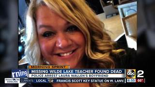 Missing pregnant teacher found dead - Video