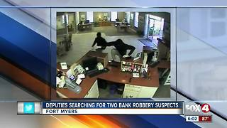 Fort Myers bank on Metro Parkway robbed Monday morning - Video