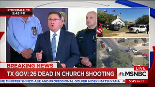 Officials: Texas Shooter Used Assault Rifle, Was Wearing Tactical Gear - Video