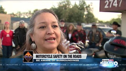 Biker Association encourages people to be aware of their surroundings on the road