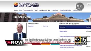 Rep. Don Shooter suspended from committee leader post - Video