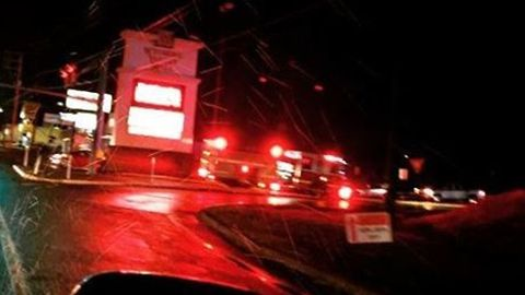 Firefighters Rush To Mall After Storm Rips Through Wilkes-Barre During Tornado Warning