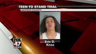 Jackson County teen heading to trial
