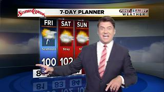 13 First Alert Weather for Aug. 2