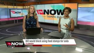 Proposed bill would block 'food stamps' for soda - Video