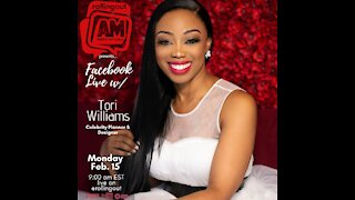 Tori Williams stops by AM Wake-Up Call to discuss 'My Celebrity Dream Wedding'