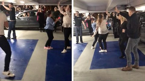 Didn't End In Tragedy: Impromptu Party Breaks Out In Car Park After Steps Concert