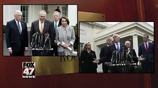 House passes bill to fund agencies amid shutdown - Video