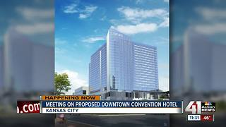 Meeting on proposed downtown convention hotel - Video