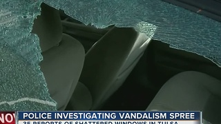 Tulsa Police Investigating Vandalism Spree - Video
