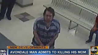 Man accused of killing mom has 2nd degree murder charge submitted - Video