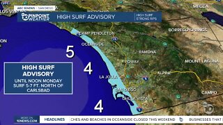 ABC 10News Pinpoint Weather for Sun. July 5, 2020