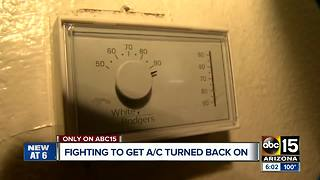 Pregnant woman forced to live without A/C after apartment allegedly refuses to fix it - Video