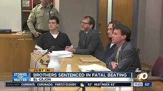 Brothers sentenced in deadly beating - Video