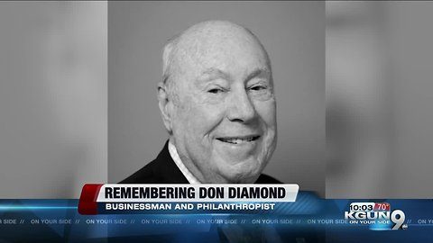 Don Diamond dies at 91