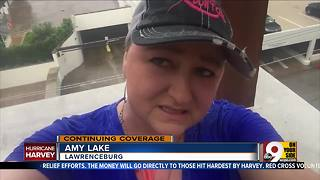 Lawrenceburg woman in Houston unable to get cancer treatments due to Hurricane Harvey - Video
