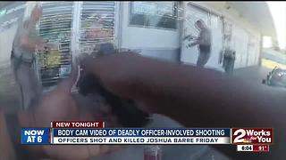 Body cam video released in deadly officer-involved shooting