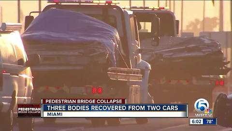 Several victims of collapsed FIU bridge identified