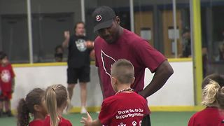 Small Stars: Patrick Peterson's youth football camp - ABC15 Sports - Video