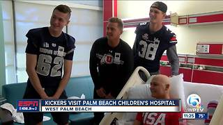 Groza Finalists Visit Palm Beach Children's Hospital - Video
