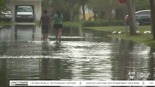 Flooding lingers after Tropical Storm Eta in St Pete