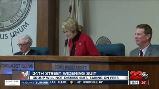 24th Street widening suit - Video