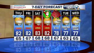 Thursday morning forecast - Video