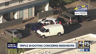 Early morning shooting near 43rd Avenue and Indian School worries neighbors