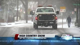 Snow, ice on highways as system crosses northern Arizona - Video