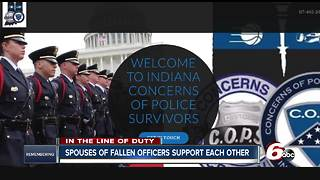 Spouses of fallen officers support each other for life - Video