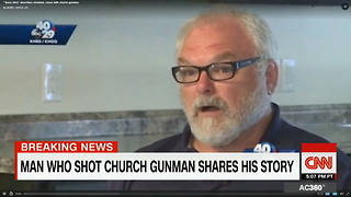 Hero Who Shot Church Gunman Breaks His Silence - Video