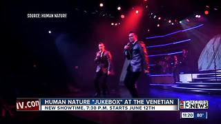 Human Nature announces new show time - Video