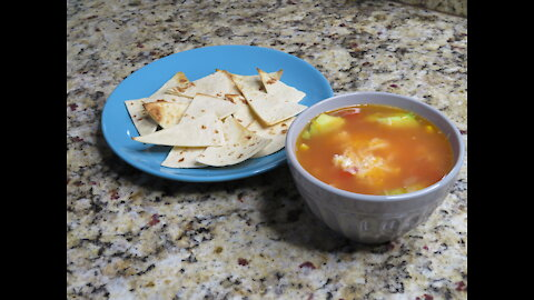 How to make Chicken Tortilla Soup! Yummy and EASY!