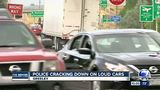 Greeley Police crack down on illegally loud cars, motorcycles - Video