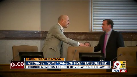 Attorney: Some 'Gang of Five' texts deleted