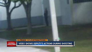 WATCH: Surveillance video shows deputy outside during Florida school shooting - Video