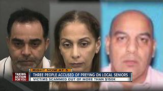 Sheriff: Suspects scammed elderly victims out of money, valuables - Video