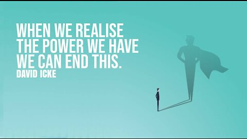 When We Realise The Power We Have, We Can End This